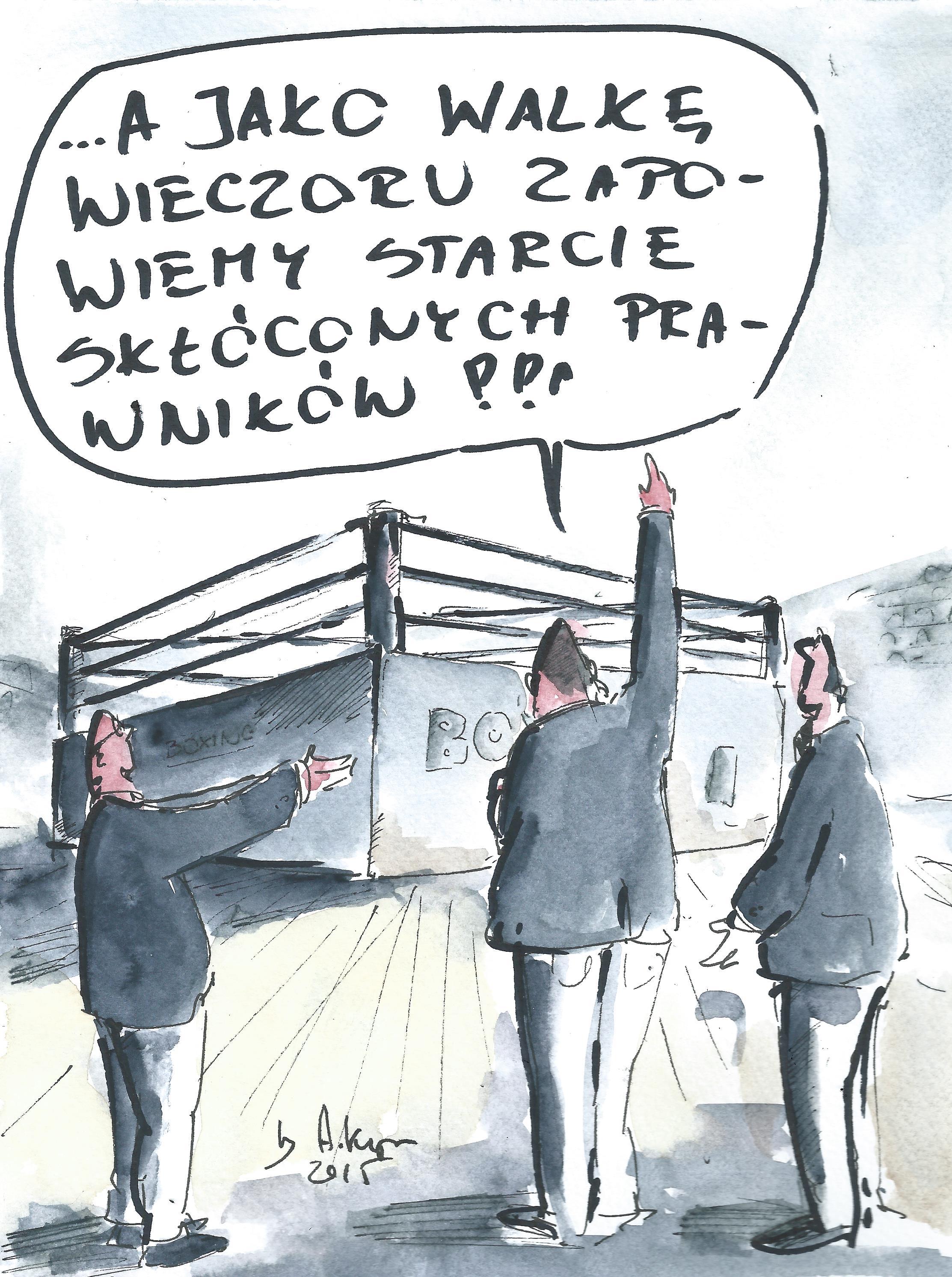 walka prawników