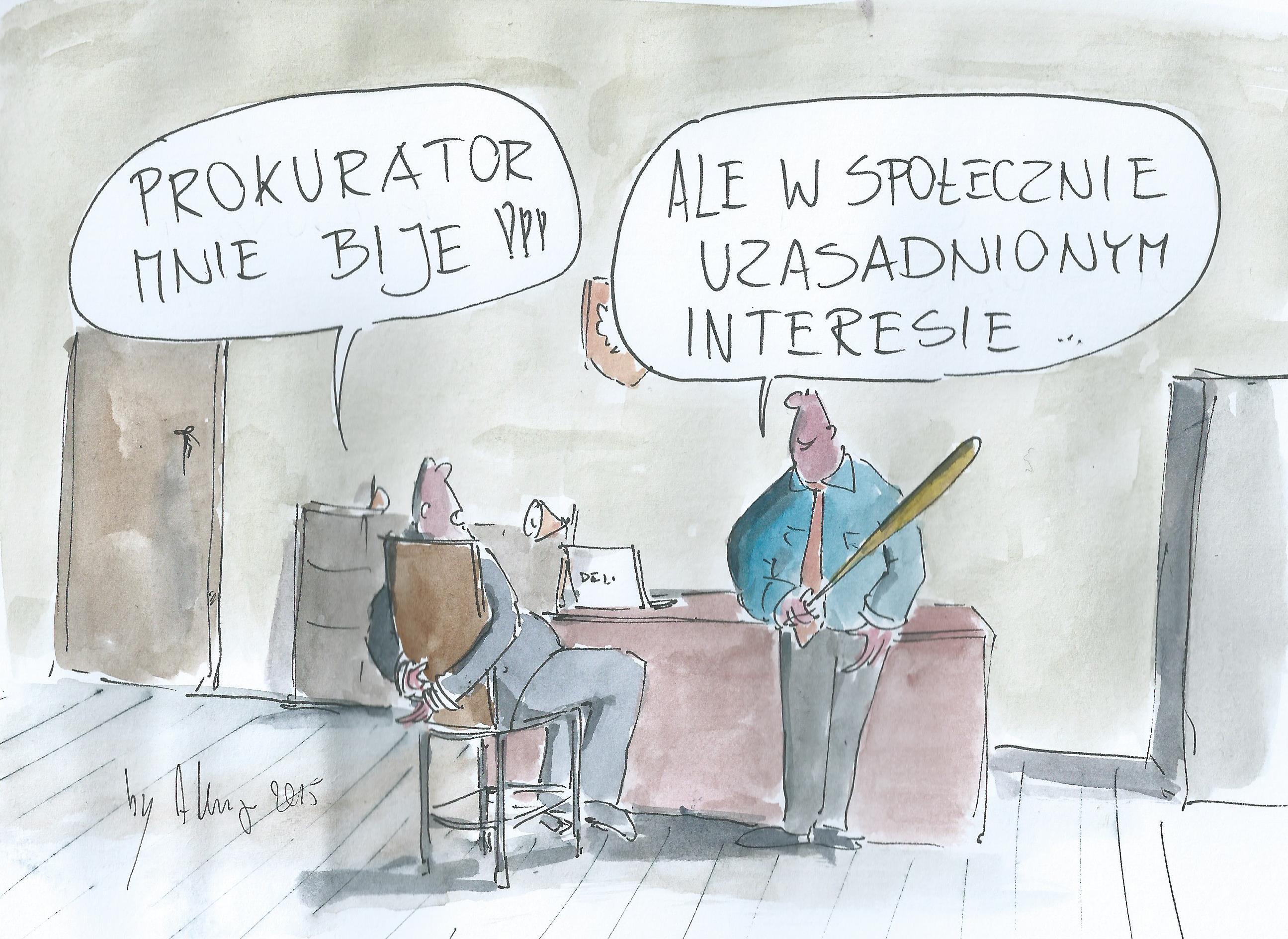 prokurator i słuszny interes